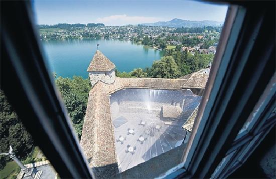 Schloss Rapperswil: Aussicht aus dem Turm