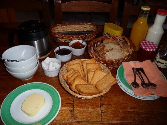 Les Cariolettes: un bon petit déjeuner