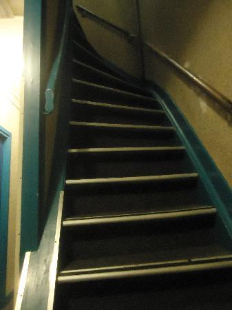 Sphinx Hotel: Otra de la escalera