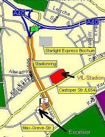 Hotel Excelsior Bochum: Area Info
