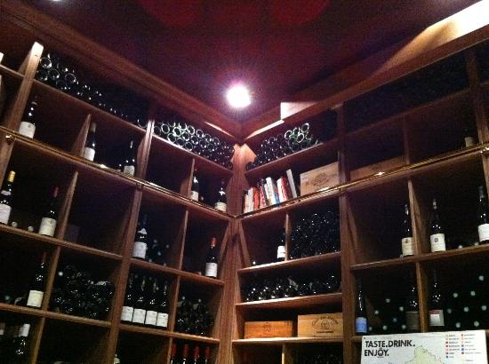 Dégustation de vins à Paris : The tasting room