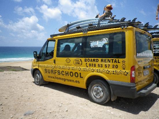 Homegrown Surfschool: EL COTTILO BEACH