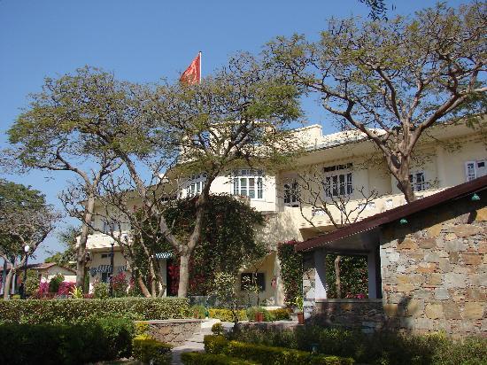 Shikarbadi: A Heritage building surrounded by lush vegitation