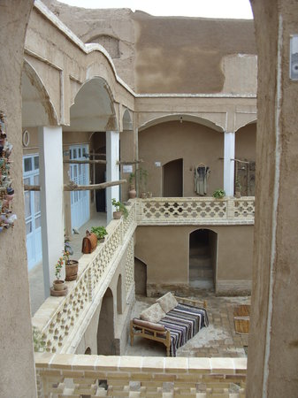 Noghli Historical House: The Courtyard