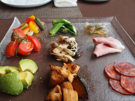 Sankara Hotel & Spa Yakushima : One of the breakfast courses!