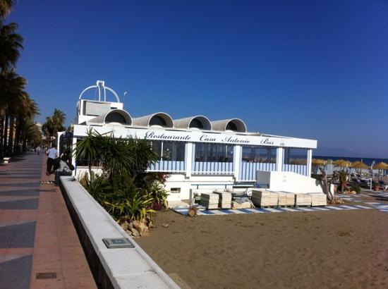 Casa Antonio : side view