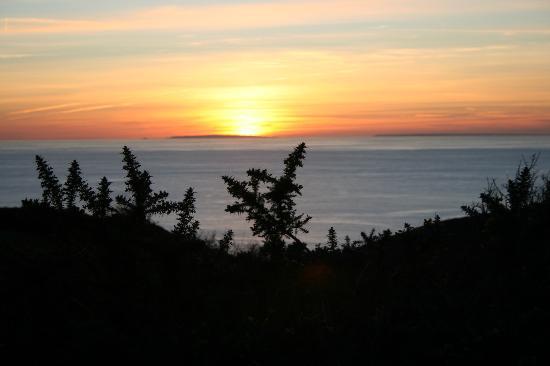 Logis de la Mare du Parc: coucher de soleil