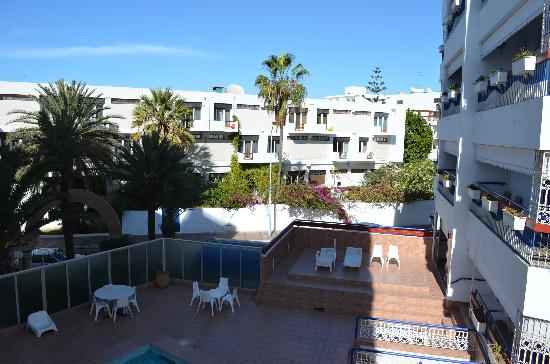 Residence Yasmina Agadir: une des terrasses à la résidence