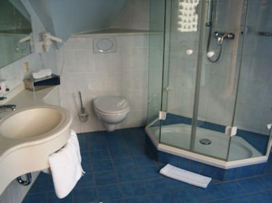 Hotel Traube: Bathroom
