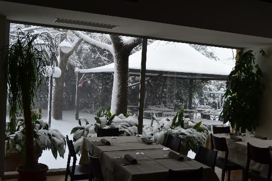 Hotel Umbria: neve '12