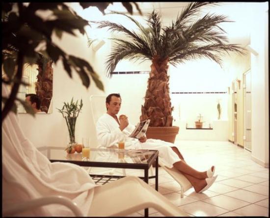 Select Falk Suite Hotel: sauna