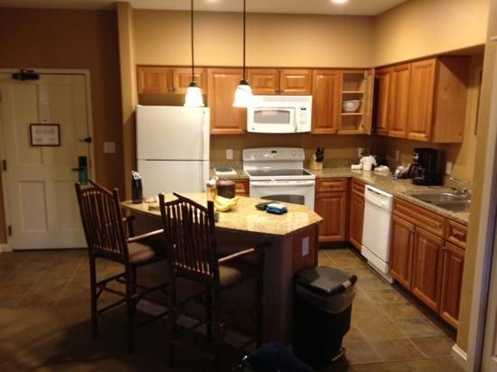Village at Steamboat: kitchen - 1 bdrm deluxe