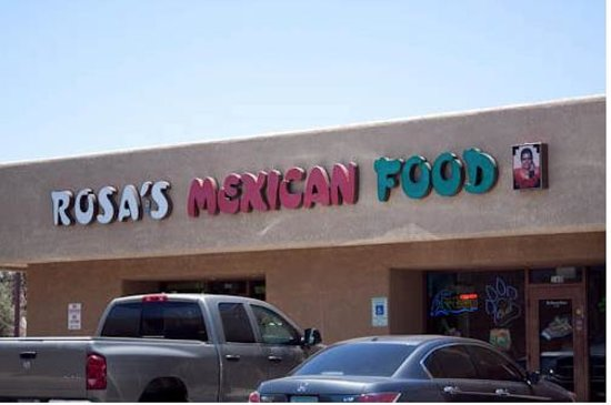 Rosa S Mexican Food Restaurant Tucson Az