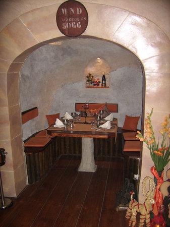 La Taberna Timanfaya : Table for four
