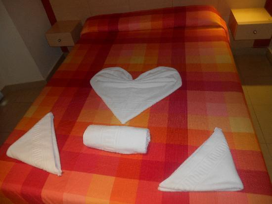 Hostal Tijcal II: camera matrimoniale