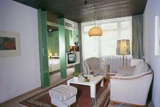 Silence Hotel Hirschen: Sitting Area
