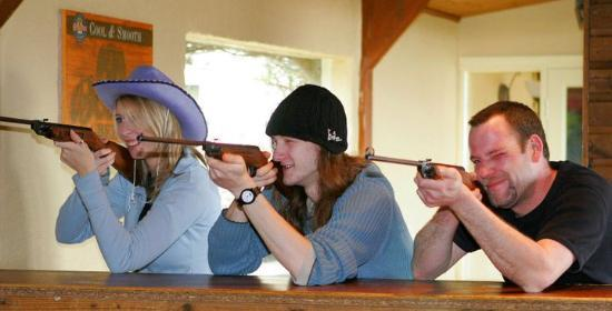 Country Skittles: shooting