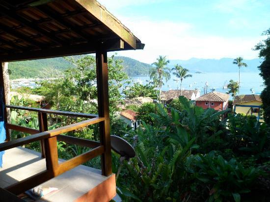 Pousada Tagomago Beach Lodge: toma desde el balcon de Togomago