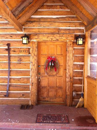 Diamond J Ranch: Front door main lodge