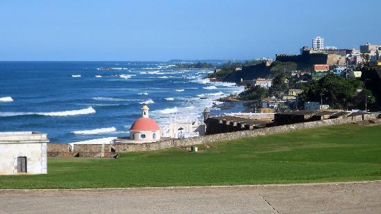 Site historique national de San Juan : East of Entrance to El Morro