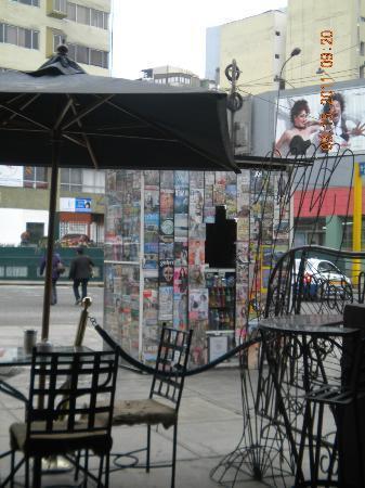 Cafe Z: street view