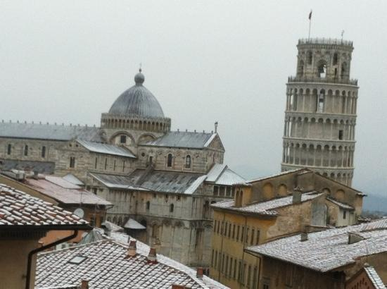 Grand Hotel Duomo : it does snow in Pisa