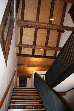 Locanda Dazio Grande: The stairs