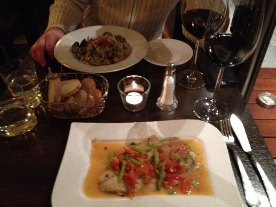 Il Gattopardo - Cucina e Vini : Dinner (Fisch mit Gemüse)