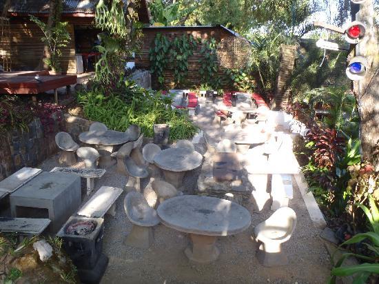 Hive Bar & Restaurant: Jardin-terrasse