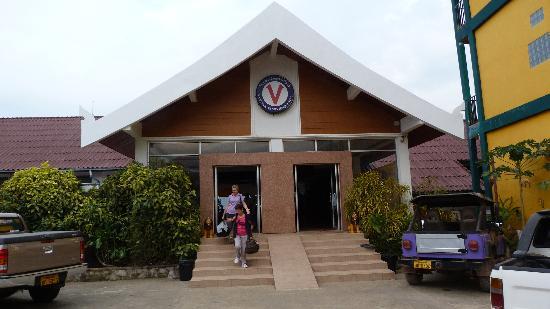 Vansana Vang Vieng Hotel: Ingresso hotel