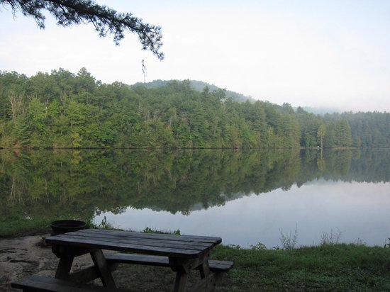Cascade Lake Recreation Area: One of the lakes