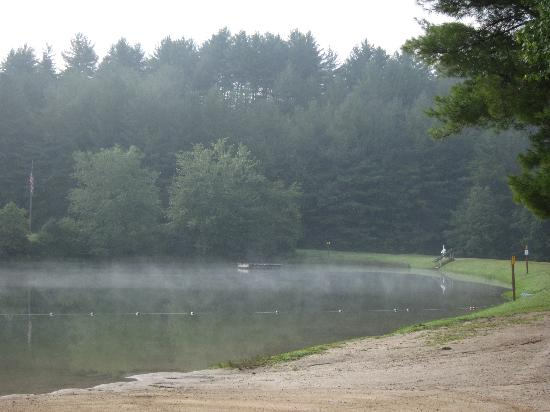 Cascade Lake Recreation Area: The lake with the beach