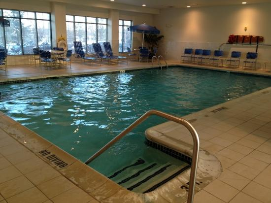 Pool Picture Of Homewood Suites Detroit Troy Troy Tripadvisor