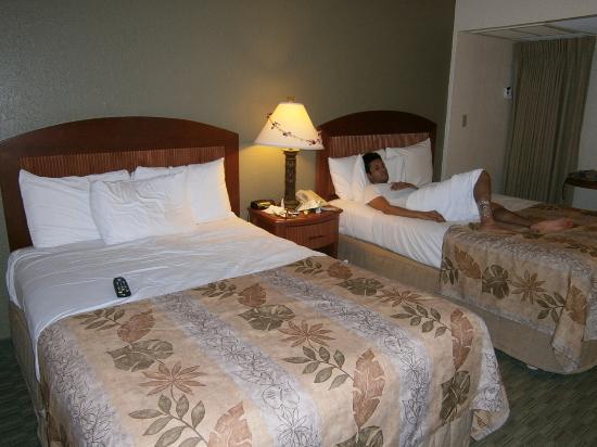 OHANA Waikiki Malia by Outrigger : the standard double bed room