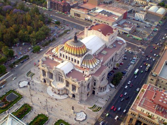Mexico City, Mexiko: Vista desde el piso 23º de la Torre Latinoamericana