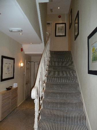 The Beaufort Hotel: The hallway