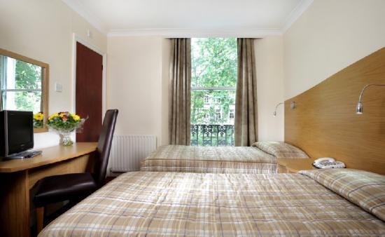 Hotel Edward Paddington: Twin Room