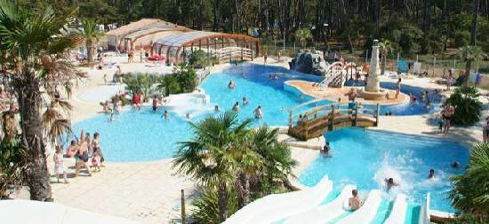 Plage soulac sur mer sandaya photo de camping sandaya for Camping chambery avec piscine
