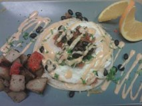 "Lazy Bass Cafe and Catering: Huevos Rancheros ""The Bass Way"""