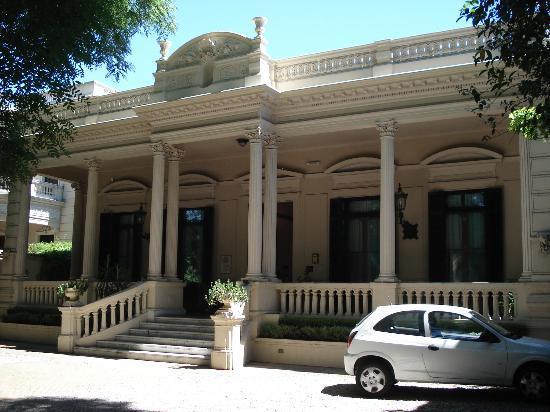 Hotel del Casco: Frente del hotel