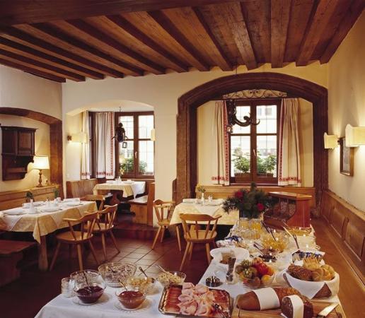 Hotel Weißes Kreuz: Restaurant