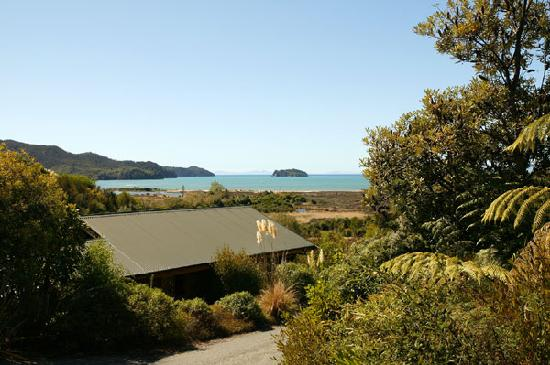 Abel Tasman Ocean View Chalets: View from a One Bedroom Chalet