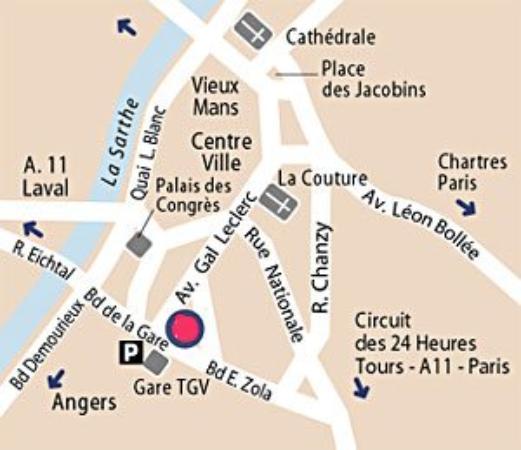 Hotel Galaxie: Area Info