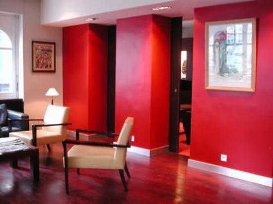 Hotel de l'Avenir : Interior