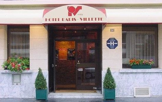 Hotel Paris Villette : HOTEL