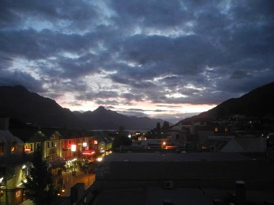 Adventure Queenstown Hostel: View from hostel
