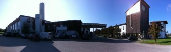 Ayinger Brewery : Panoramic view.
