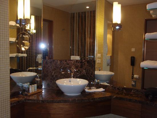 The bathroom