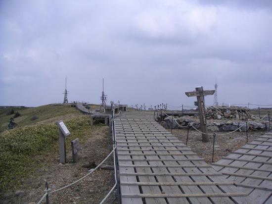 Mt. Tsurugi: 剣山(頂上)