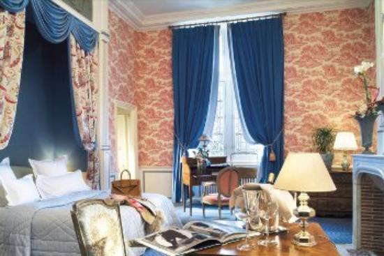 Chateau de Noizay : Chambre Redx